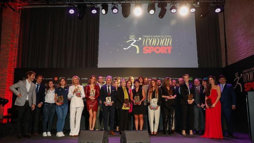 Woman i Sport atorguen els primers Premis  de la Dona en l'Esport