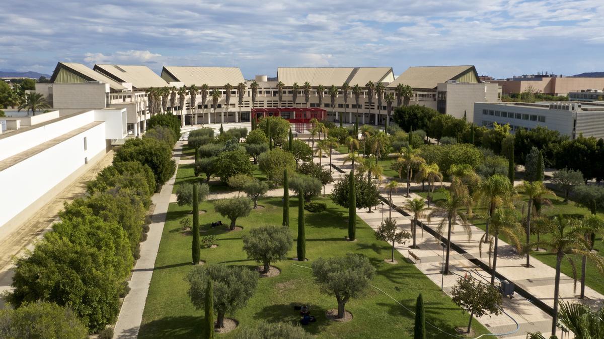 El aulario 2 de la Universidad de Alicante