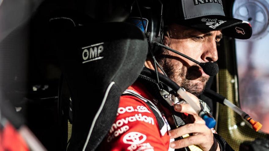 Aún no ha acabado al Dakar y Alonso ya piensa en su siguiente reto