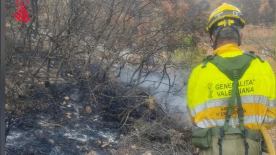 Emergencias establece rutas de vigilancia aérea para prevenir incendios a causa de los rayos en Castellón