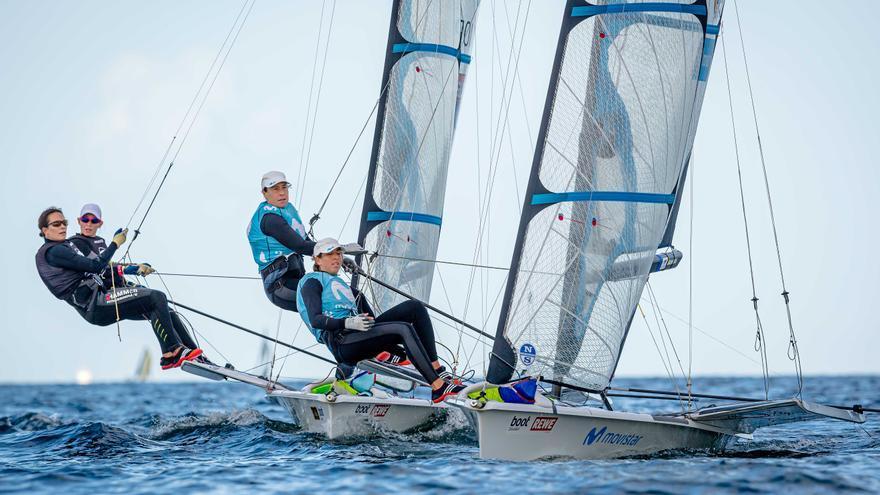 Paula Barceló se mantiene líder en la Semana de Kiel