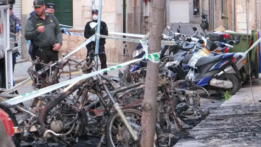Neun verbrannte Motorräder: Polizei fasst Feuerteufel von Sóller