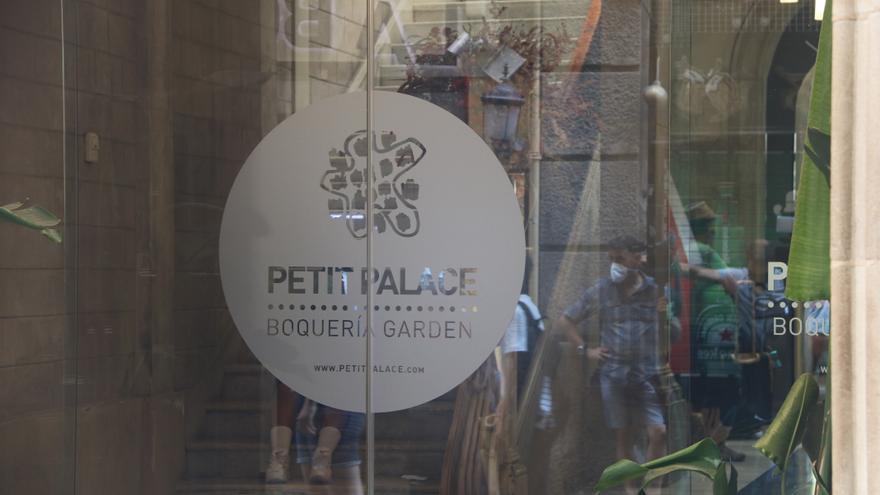 Uns petards de festa major provoquen l'alarma en un hotel de Barcelona