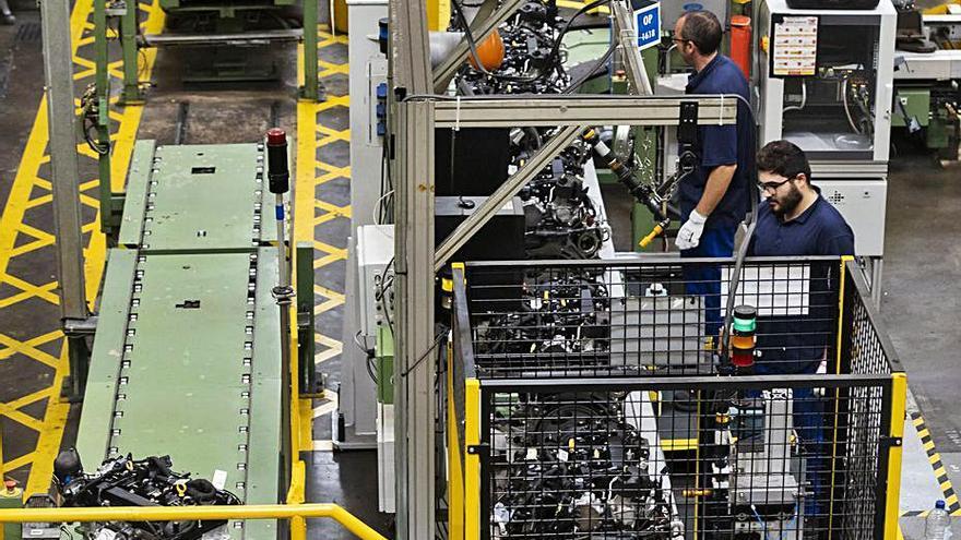 Ford reduce una semana los paros en la planta de motores