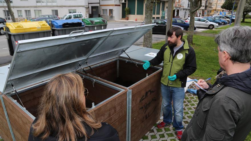 El compostaje avanza en O Grove