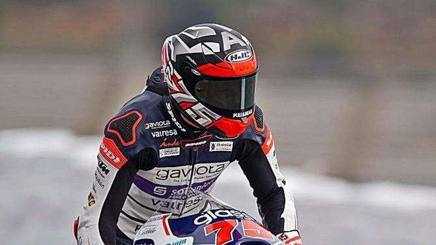 Albert Arenas continua líder i té vuit punts de marge sobre Ogura a falta d'una sola cursa