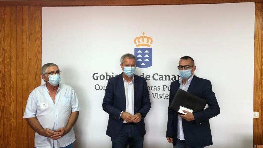 Franquis alega que anulará  por la desidia de Arrecife el convenio de pisos de Titerroy