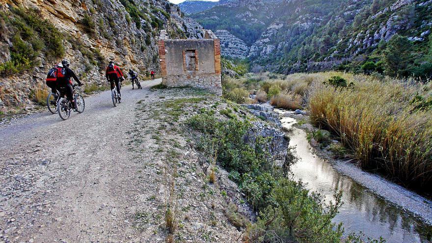 La Vía Verde del Serpis avanza en su recorrido salvo de Gandia a Villalonga