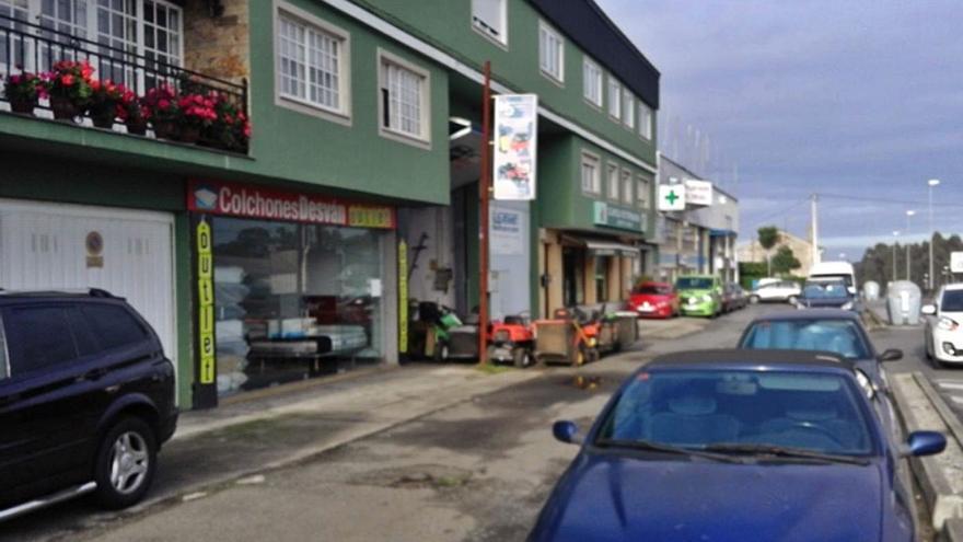 Sada contrata las obras de reordenación de viales y aparcamientos del polígono de Coiro