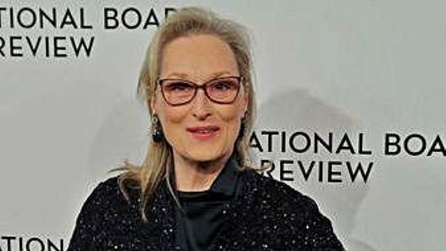 La actriz Meryl Streep recibirá el premio honorífico en el Festival de Toronto