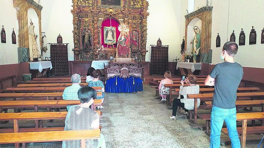 Fuentesaúco honra a la Virgen de la Antigua