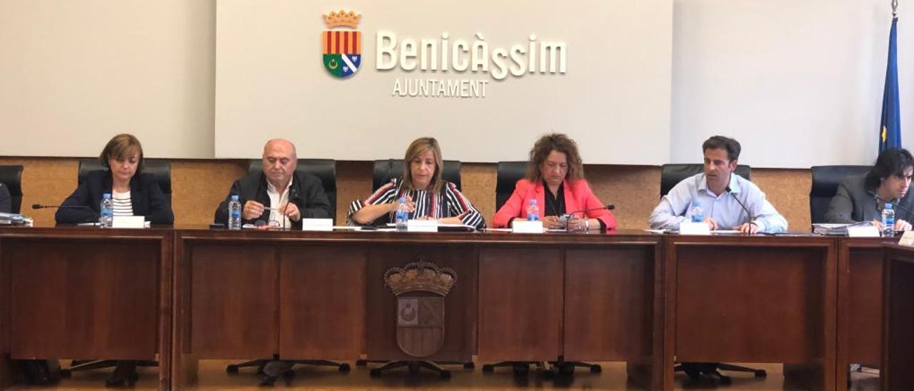 Pleno en el Ayuntamiento de Benicàssim