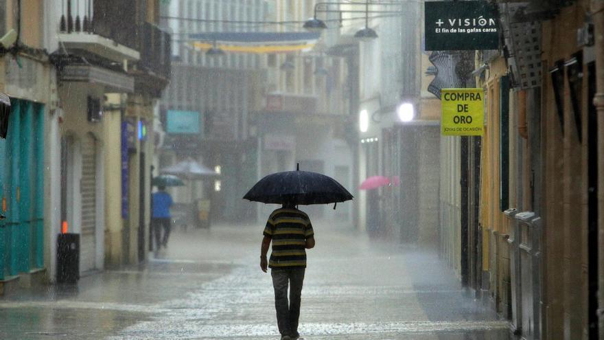 El tiempo en Valencia: el otoño comienza con lluvias