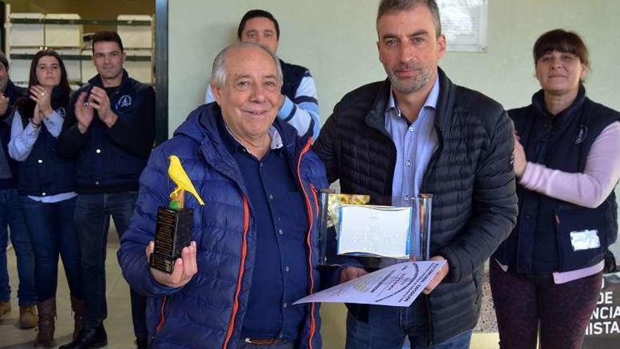 El coruñés Cándido Morandeira, campeón absoluto del concurso de Ornitología