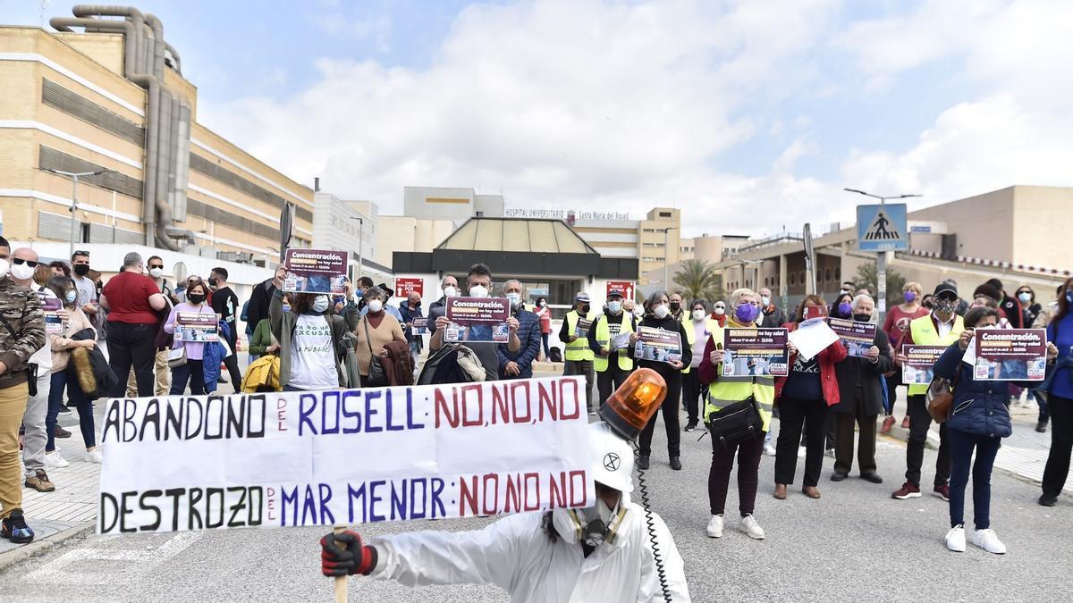 Las Marchas de la Dignidad toman las calles de seis municipios de la Región