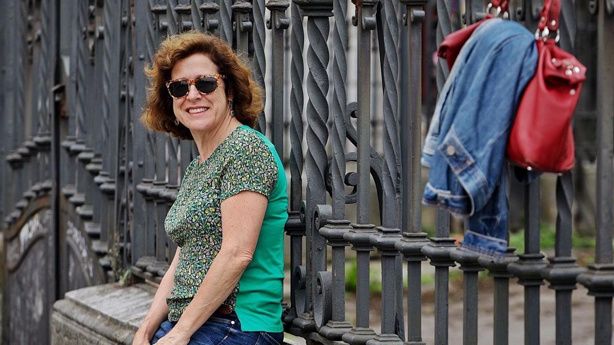 La escritora y periodista Berna González Harbour.     // JUAN PLAZA