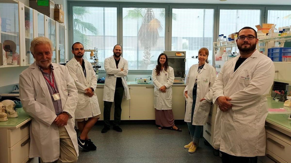 Investigadores de la Universidad de Málaga.