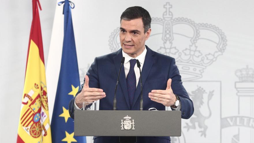 Pedro Sánchez comparece tras la reunión del Consejo de Ministros