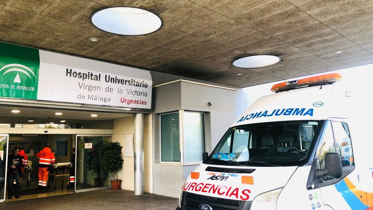Puerta de Urgencias del Hospital Clínico Virgen de la Victoria L.O.