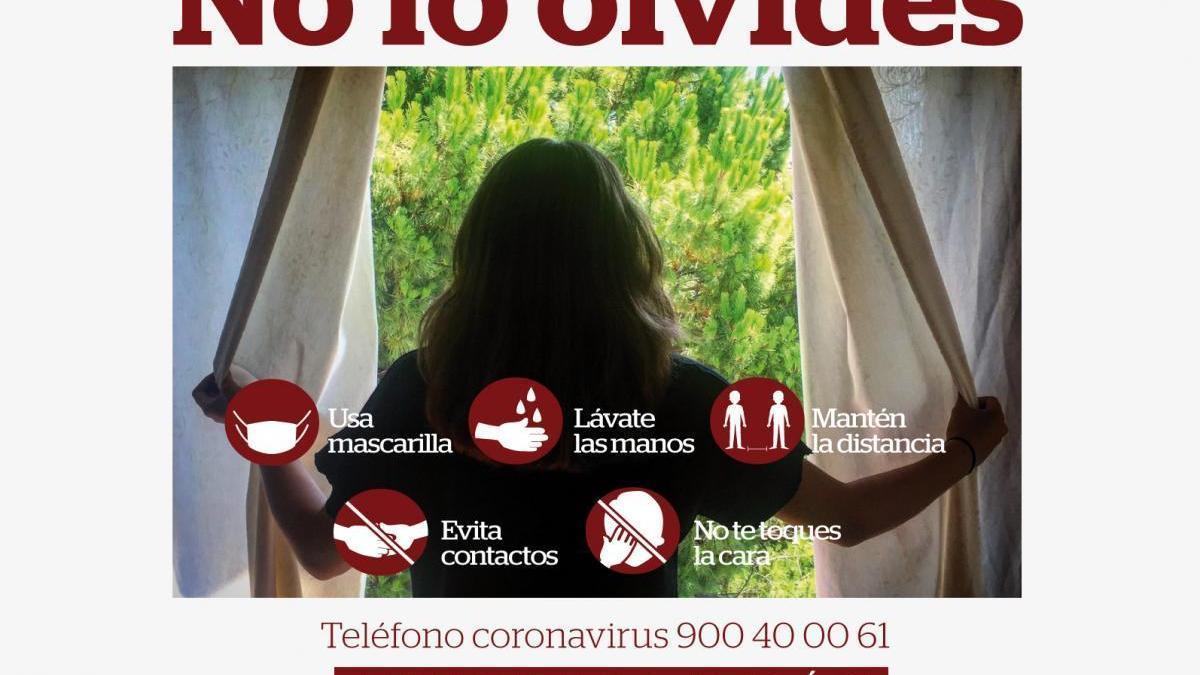 Coronavirus en Córdoba: 'No lo olvides ¡Ni un paso atrás!'