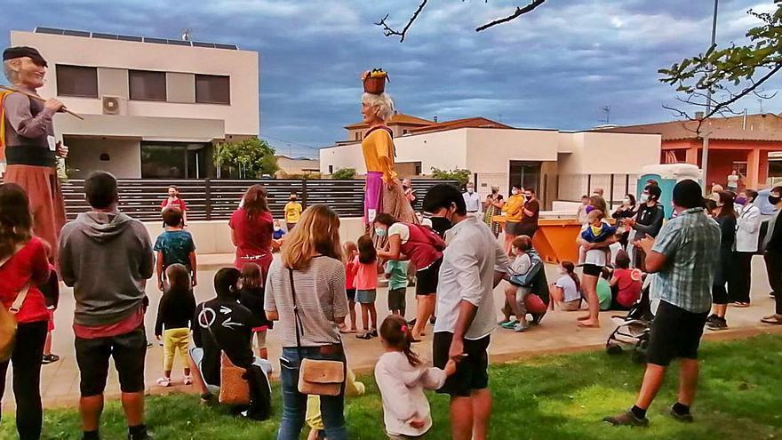 La tradició popular marca la festa major de Viladamat