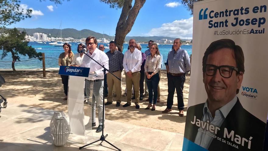 Javier Marí seguirá al frente de la junta del PP de Sant Josep