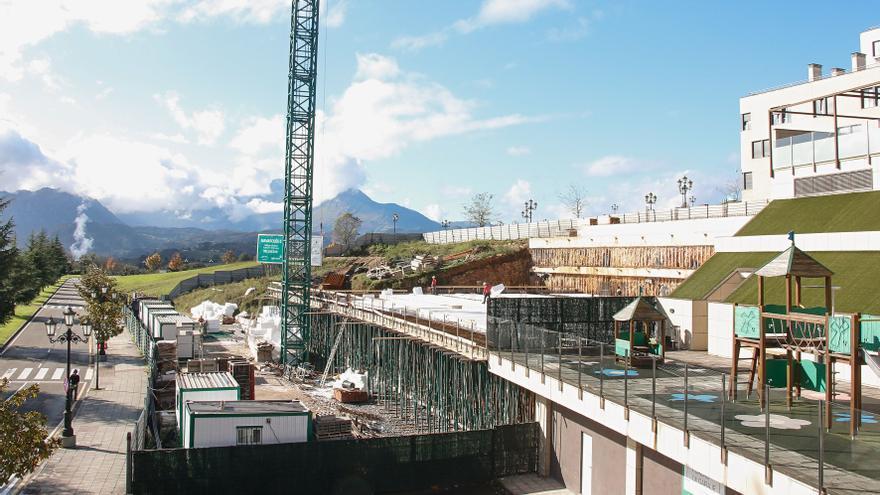 Las viviendas de la era postcovid se construyen en Oviedo: más terraza y zonas de teletrabajo