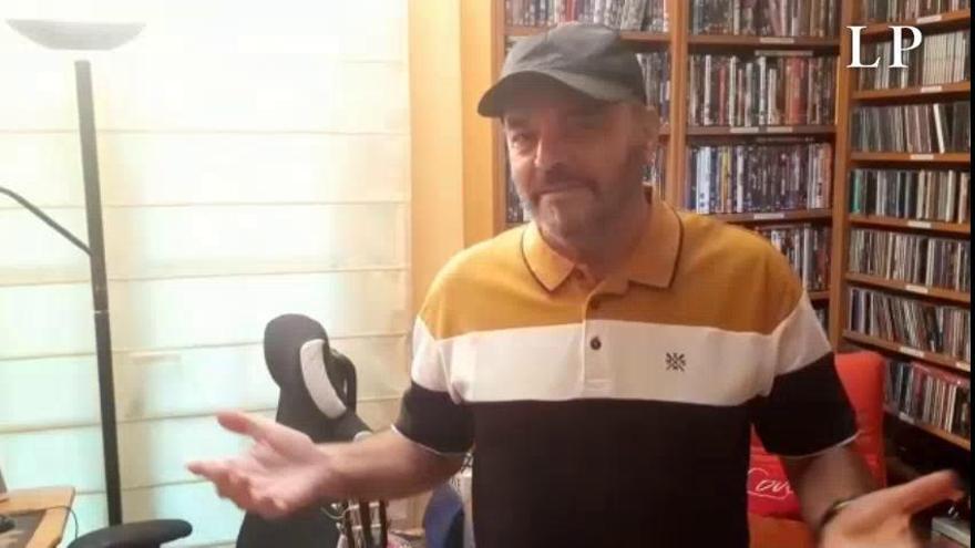 Pepe Benavente canta para ayudarnos a sobrellevar la cuarentena