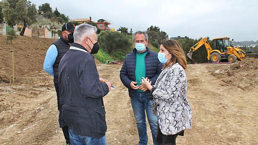 Mijas adecua la zona del cementerio musulmán