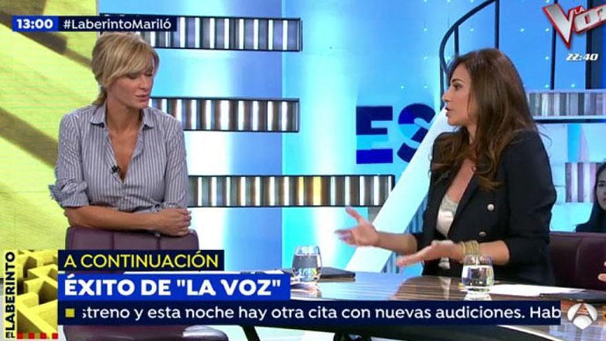 """Mariló Montero: """"Pablo Iglesias es un psicópata"""""""