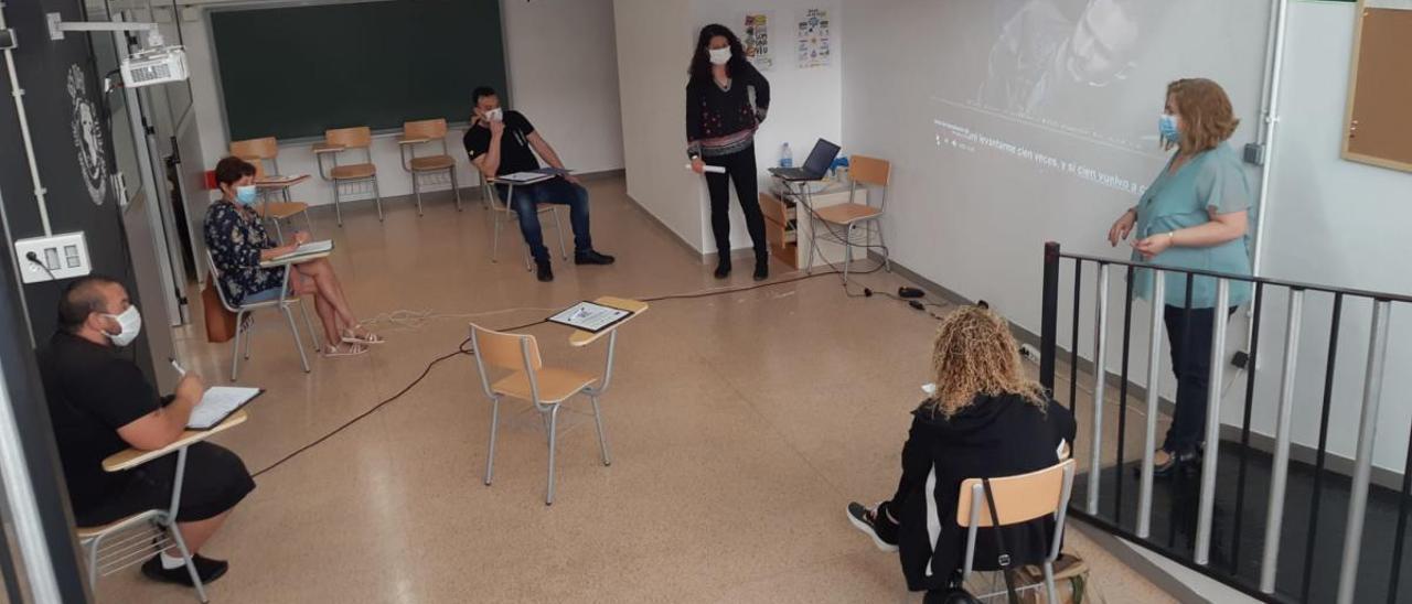 Imagen del primer curso realizado.