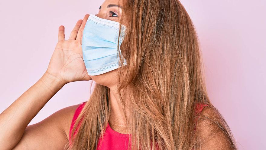 La voz se enmascara en pandemia