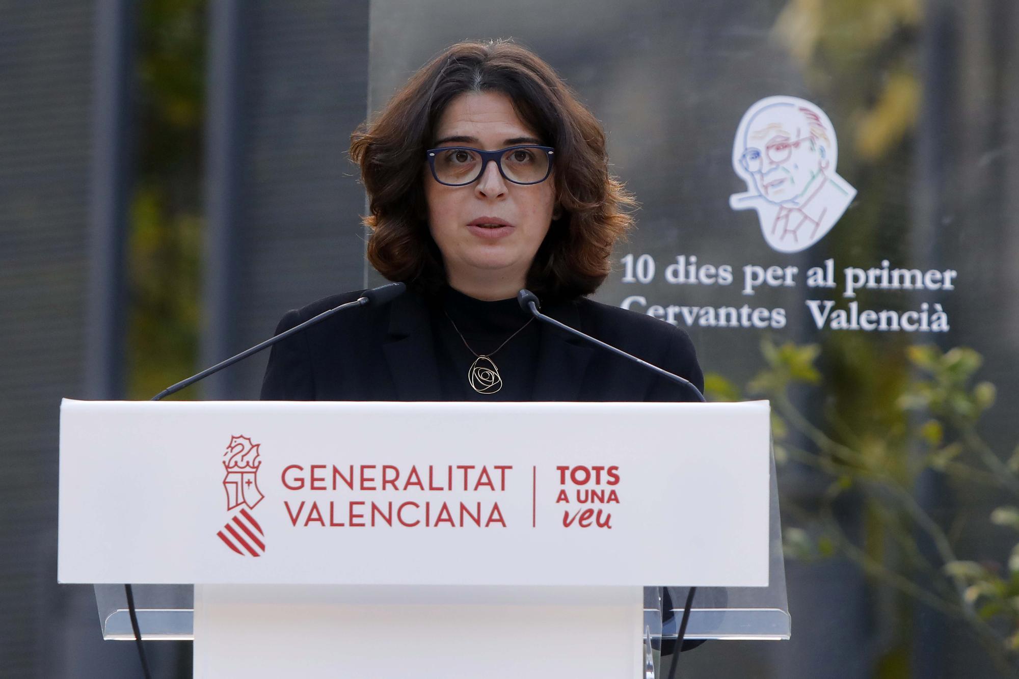 Las imágenes del homenaje literario y musical a Francisco Brines en Valènica