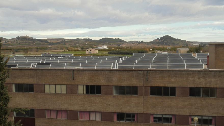 El Lluís Alcanyís prevé reducir un 33 % sus emisiones en los próximos 9 años