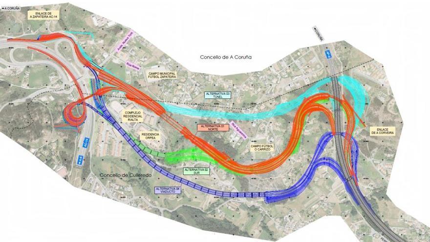 Fomento publica el proyecto revisado para unir la autopista con la tercera ronda