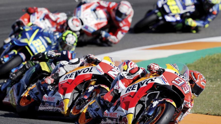El Mundial de MotoGP levanta el telón bajo los focos de la noche de Qatar