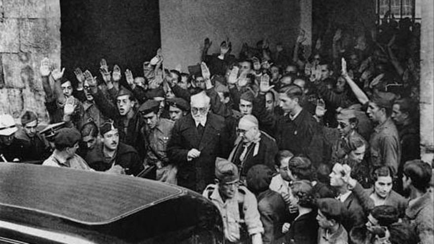 La verdadera historia del enfrentamiento entre Unamuno y Millán Astray