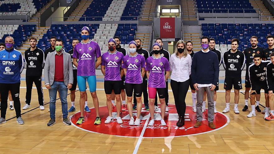 El CN Palma se apunta al programa 'Connecta l'Esport' del Palma Futsal