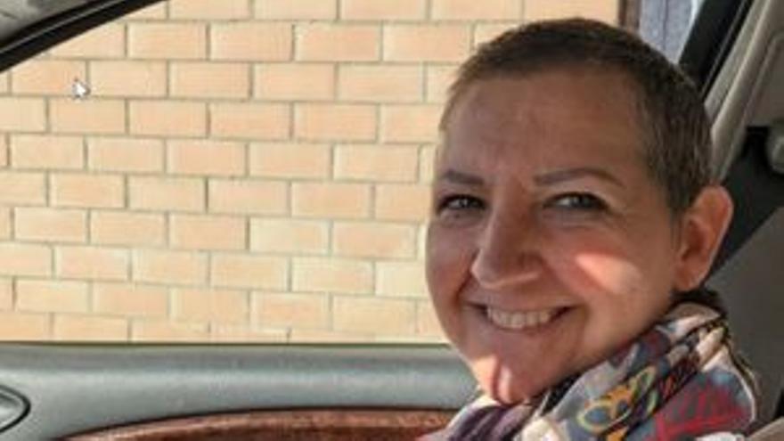 El viaje de Vicky: 300 kilómetros diarios de Soria a Burgos para tratarse el cáncer