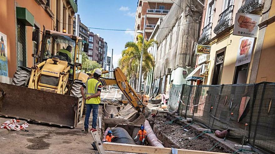 Arteaga anuncia el desbloqueo de las obras de la céntrica calle Imeldo Serís