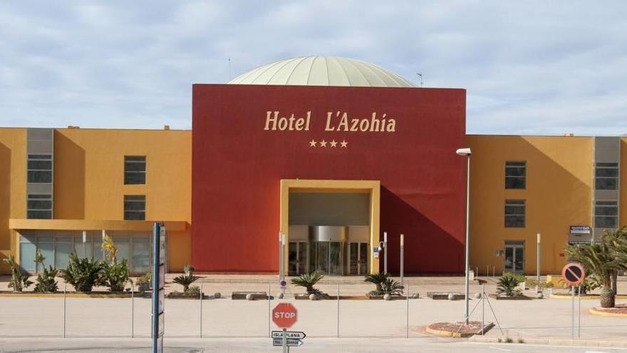 Se vende hotel en La Azohía
