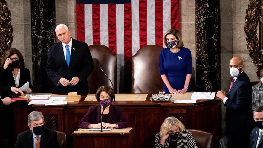 El Congreso de EEUU ratifica la victoria electoral de Biden