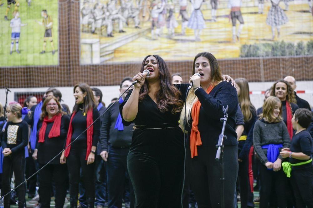 Concert de gospel amb grups de tot Catalunya