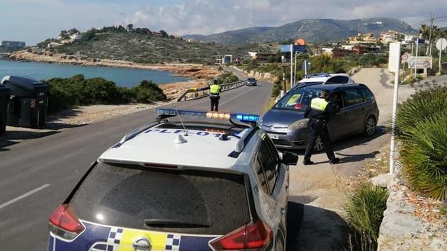Peñíscola usa barreras de hormigón para bloquear el acceso a turistas