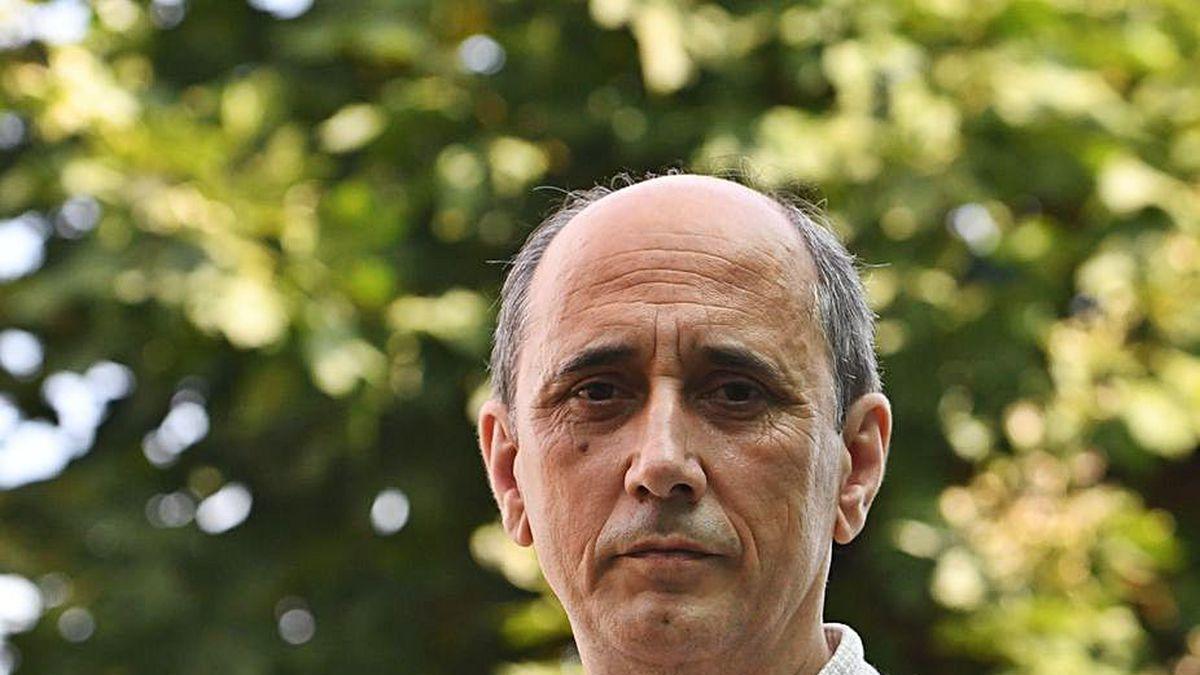 El presidente de Fragas do Mandeo, Fernando Bandín.