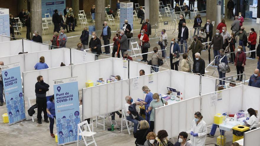 Segueixen millorant els indicadors de la pandèmia a la regió sanitària de Girona
