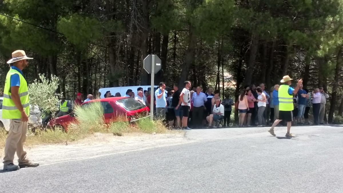 Protestas en la carretera