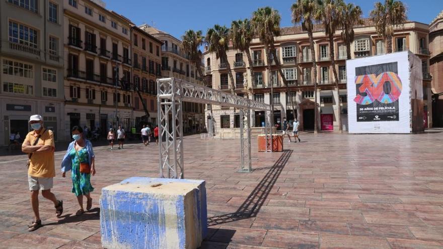 Festival de Málaga: A punto de la primera claqueta