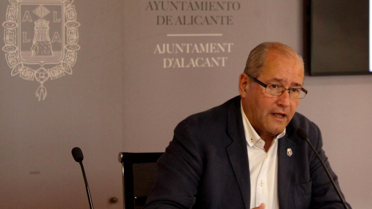 El edil de Seguridad, José Ramón González