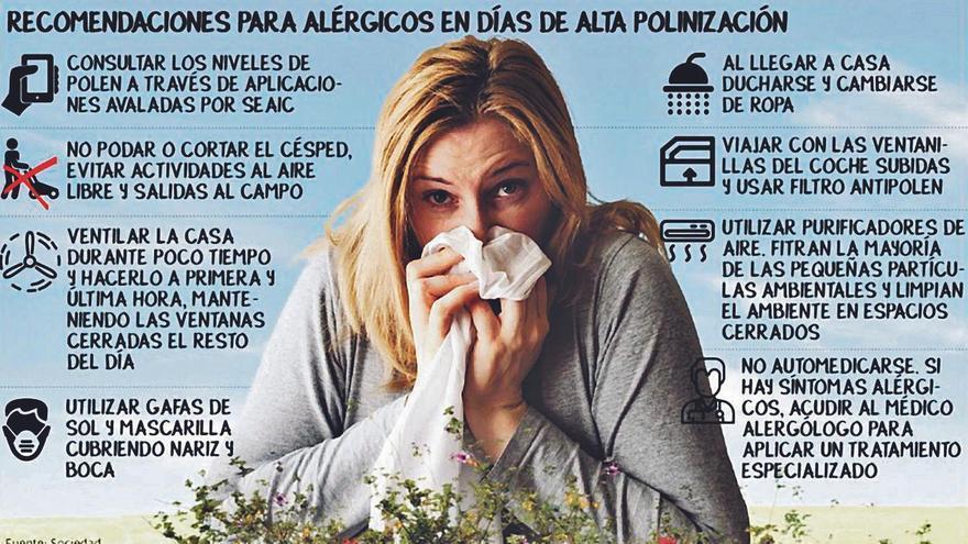 La pandemia, una 'aliada' contra la alergia primaveral